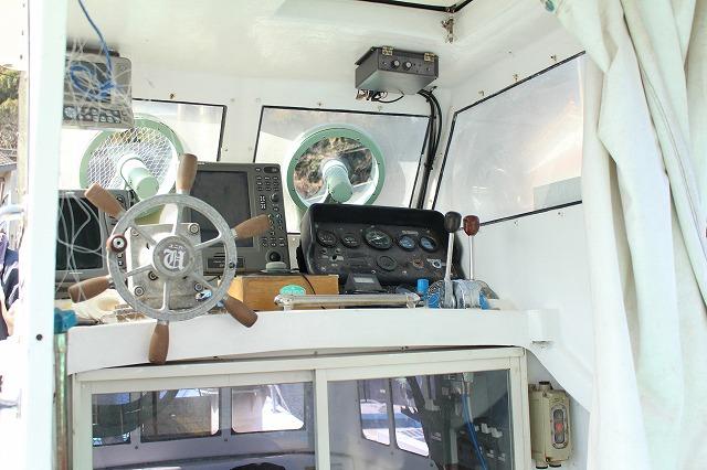 0:遊漁船 海龍 エサ釣り ジギング 釣具店 長久 星賀港 船釣り 船体 ギャラリー 正面